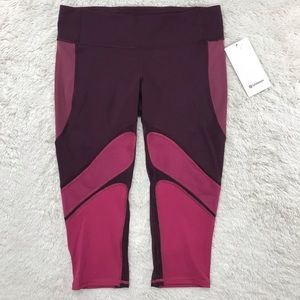 NWT Lululemon Luxtreme Colour Rush Crop